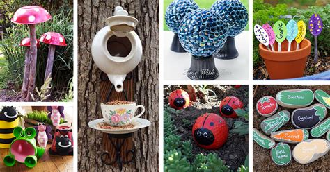 garden craft ideas 29 best diy garden crafts ideas and designs for 2017
