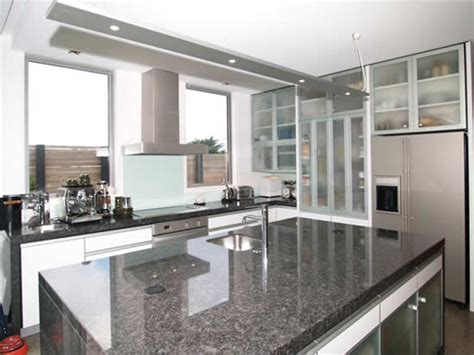 Western Kitchen Cabinets steel gray