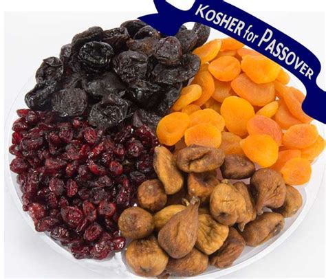 Passover Gift   Two Kosher For Passover Fruit & Nut Platters