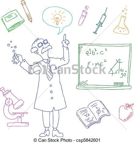 doodle science login vector clip of laboratory doodles set of doodles