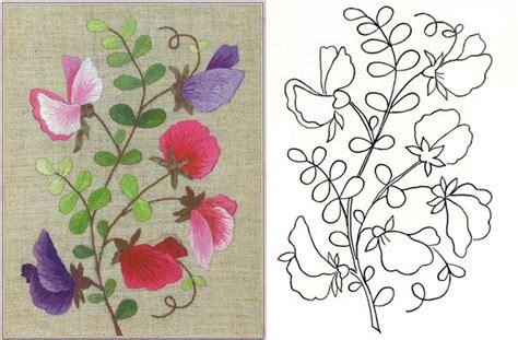 imagenes de flores para bordar a mano patrones para bordar flores mano