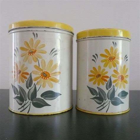 129 best yellow canisters images on pinterest vintage kitchen 17 best images about vintage canister set on pinterest