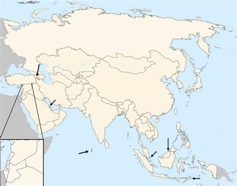 map of asia countries quiz find the countries of asia by capital quiz