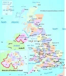 map of counties and cities maps uk