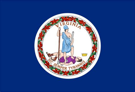commonwealth of virginia virginia flags emblems symbols outline maps