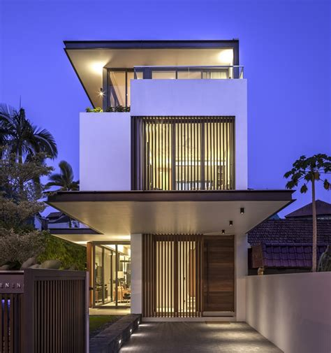 home design architecture world of architecture thin but modern house by