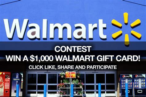 1000 Walmart Gift Card Giveaway - walmart canada contest enter for 28 images enter to win a 20 walmart gift card