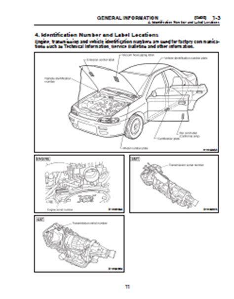 subaru impreza wrx 2001 service manual car service manuals