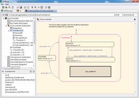 hays workflow view simulink and stateflow models around the switch