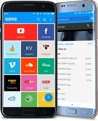 keepvid for mobile official keepvid android free downloader for