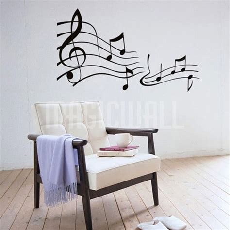 musical wall stickers wall decals musical notes wall stickers toronto canada