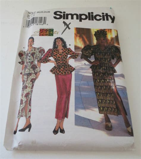 sewing patterns in south africa new simplicity shanti african skirt top sewing pattern