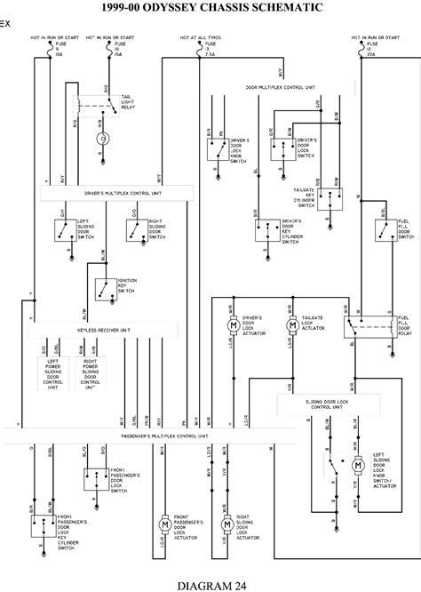 Wiring Diagram PDF: 2003 Honda Odyssey Headlight Wiring