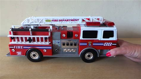 tonka fire truck tonka american toy engine fire truck 88 youtube