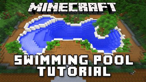 How To Make A Swimming Pool In Your Backyard by Minecraft Tutorial How To Make A Swimming Pool And Spa