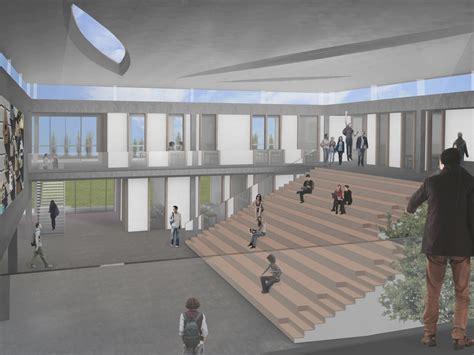 foyer schule studio thier uitbreiding middelbare school pegasus