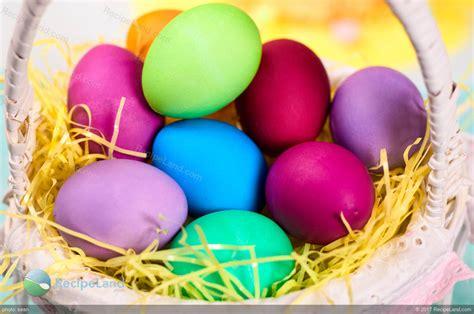 easter egg dye easter egg dye with color chart recipe