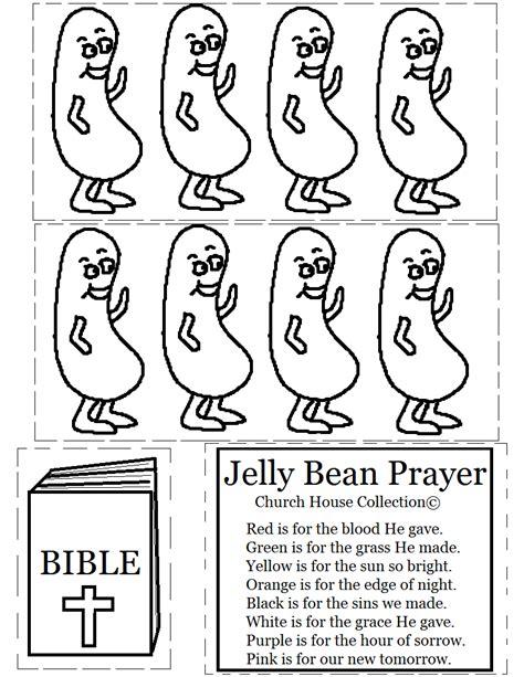 church house collection blog jelly bean prayer cutout