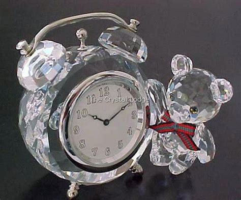 swarovski swarovski clock table kris bear 212687