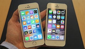 Image result for iPhone 5 vs SE Size