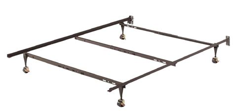 home source adjustable metal bed frame by oj commerce