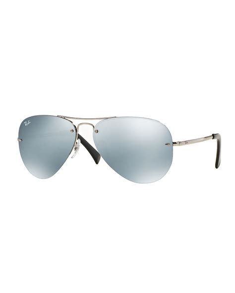 Aviator Sunglasses ban rimless aviator rb3214 louisiana brigade