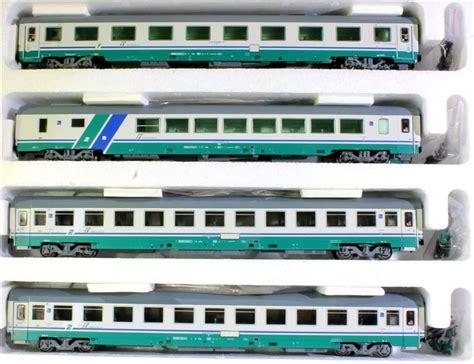 carrozze acme acme 55142 set di quattro carrozza per treni ic xmpr di
