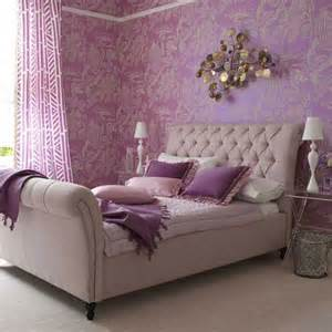 Purple Bedroom Ideas Purple Bedroom With Upholstery Bed Picsdecor
