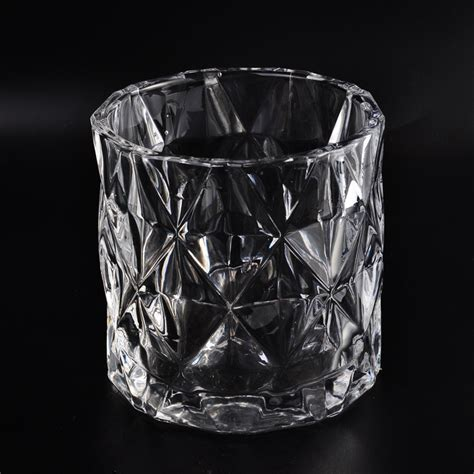 Wholesale Glass Candle Holders Transparent Made Glass Candle Holders Wholesale For Home