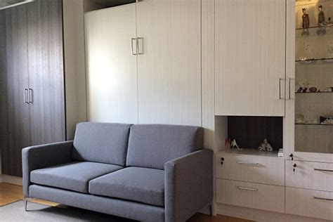 Murphy Sofa by Space Solutions Toronto Murphy Beds Wall Units