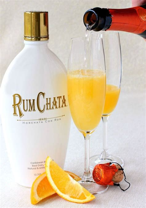 martini rumchata rumchata creamsicle chagne pour brunch pinterest
