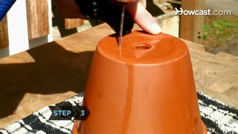drill drainage holes  container gardening youtube