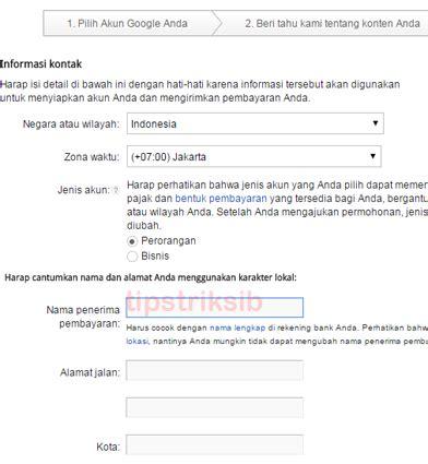 tutorial adsense blogspot tutorial lengkap cara daftar google adsense melalui