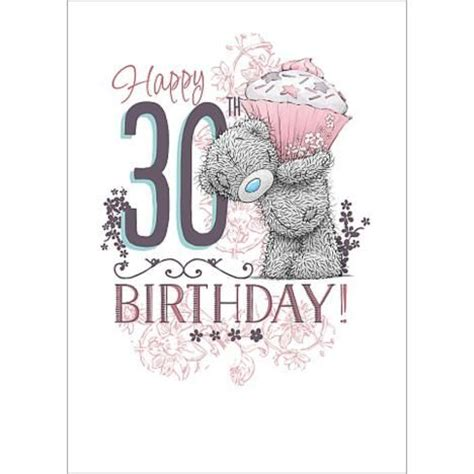 Happy 30th Birthday Card 17 Best Ideas About 30th Birthday Wishes On Pinterest