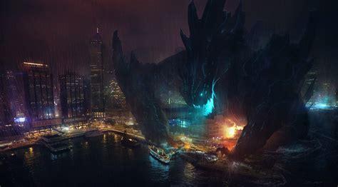 film fantasy nights pacific rim film monster coast rain night movie cities