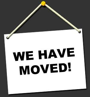 Molbio Research Highlights We Have Moved We Moved Sign Template