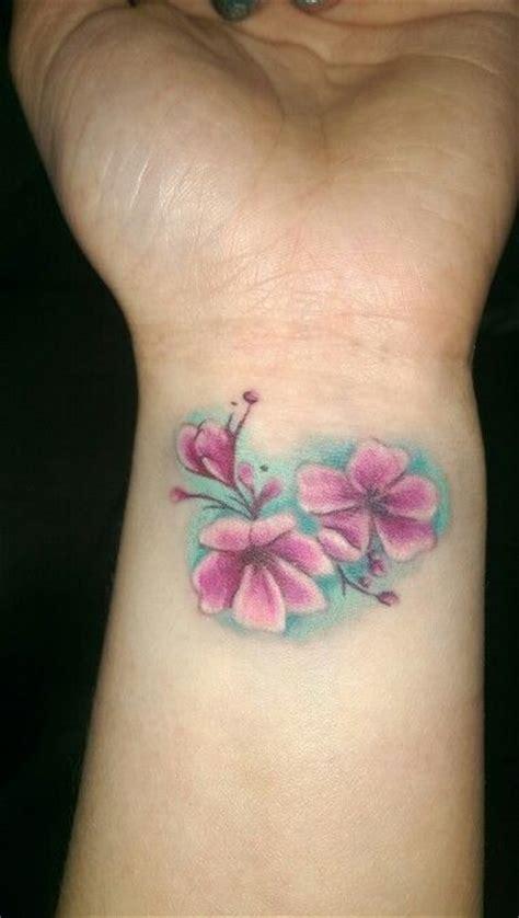 cherry blossom tattoo wrist cherry blossom wrist inspirations