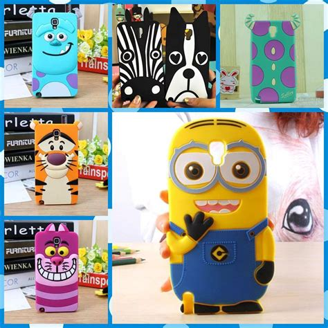 Softcase 3d Minion Samsung Galaxy Grand Grand Neo buy 3d minions phone silicone soft cover samsung galaxy note 3 iii neo lite n7505 n7506v