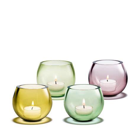 glas teelichthalter cocoon teelichthalter holmegaard im shop
