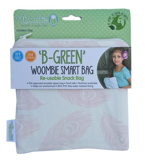 Woombie Air Nautical Blue b green smart bags reusable travel bags woombie