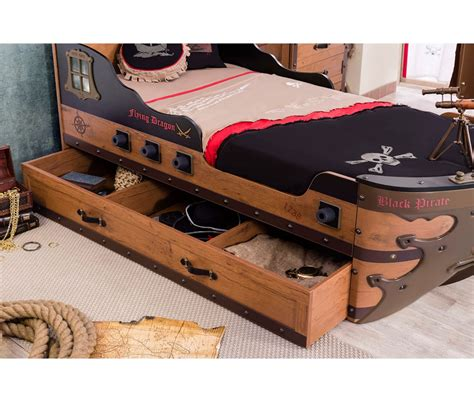 Ship Mattress by Captain S Armada Pirate Ship Bed Mattress Included