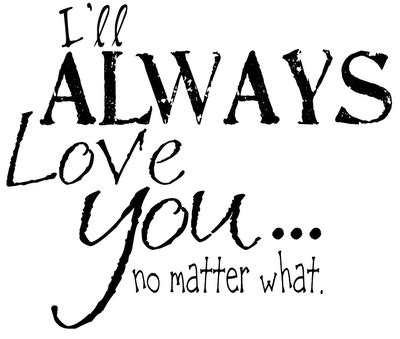 Attractive A True Love Story Never Ends Wall Art #4: Ill-always-love-you.png