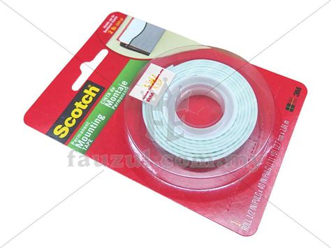 Scotch 3m Mounting 12 Mm X 3m 3m mounting 12 7mm x 1 m 110d fauzul enterprise