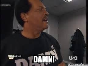 Ron Simmons Damn Meme - ron simmons damn meme memes