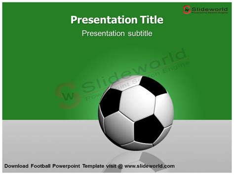 33 Best Animated Powerpoint Templates Images On Pinterest Role Models Template And Templates Powerpoint Football Template