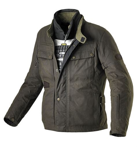 jacket moto spidi worker wax motorcycle jacket
