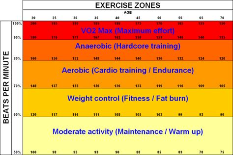 weight management zone those pretty rate charts scooby s home workouts