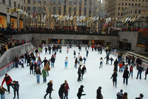 how to make an ice skating rink in your backyard new york at christmas 10 festive things to do in new york city pommie travels