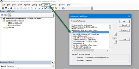 how to import json to excel using vba excelerator solutions