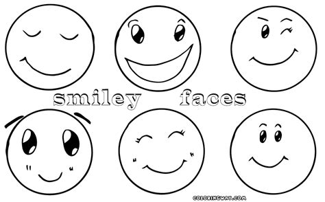 smiley faces coloring pages coloring pages ideas